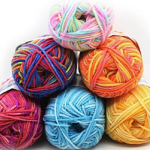 Dyed Cotton Wool Yarn