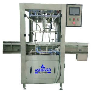 Automatic High Speed Servo Liquid Bottle Filling Machine