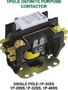 Single Pole Definite Purpose Contactor (1P-SS)