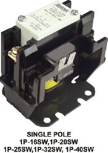 Single Pole Definite Purpose Contactor (1P-SW)