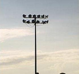 Flood Light Pole
