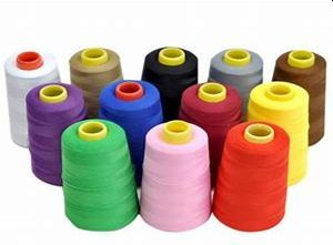 100% Spun Poly Garment Sewing Threads