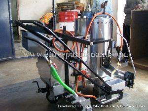 Thermoplastic Manual Road Marking Machine