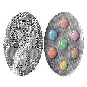 Sildigra CT 7 Chewable Tablets (Sildenafil Citrate 100mg)