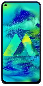 Samsung Galaxy M40 128GB (Seawater Blue, 6GB RAM)