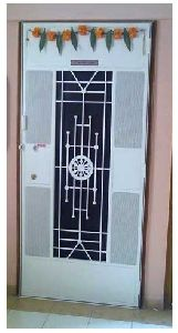 Designer Safety Door Ashok Chakra Design DSR-002