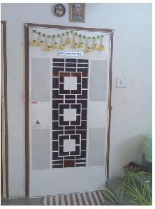 Designer Safety Door HDFC Square Design DSR-004