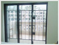 Triple Panel Terrace Safety Door