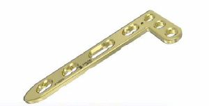 2.7mm LCP L Dorsal Distal Radius Head 3 Hole Plate