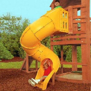 Tube Playground Slide