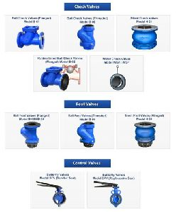 ball type foot valves
