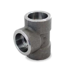 Carbon Steel Socket Weld Equal Tee
