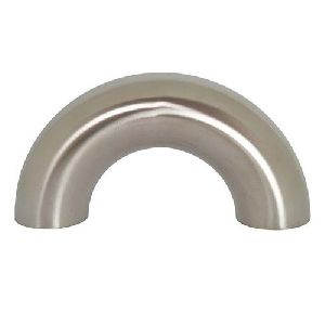 Mild Steel 180 Deg Long Radius Elbow