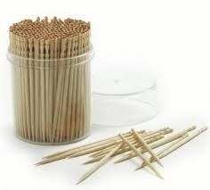 Wooden Toothpick Stick