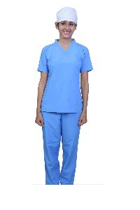 Blue Medical Scrub Suit