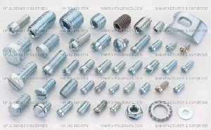 Silver Brass Fasteners