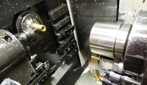 Tsugami CNC Swiss Machine