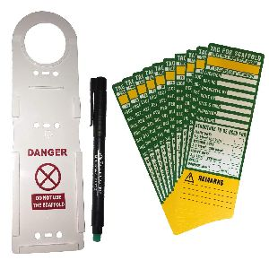 Scaffolding Tag Holder