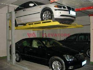 Basement Car Stacker
