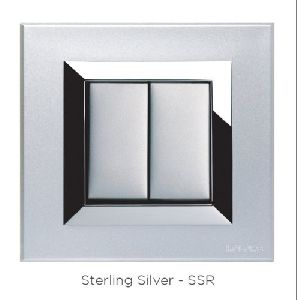 Sterling Silver Switch Plate