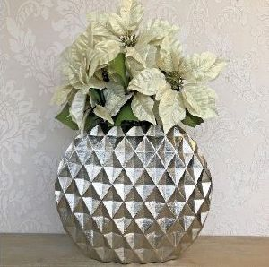 Aluminium Hammered Planter