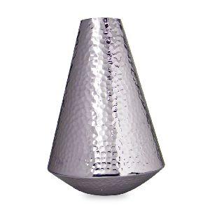 Aluminium Hammered Vase