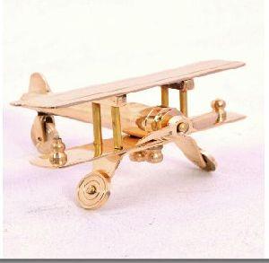 Brass Aeroplane Miniature