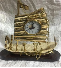 Brass Decorative Clock
