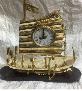 Brass Decorative Clock