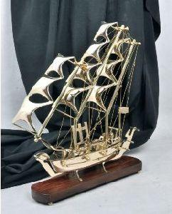 Brass Decorative Ship