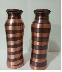 Copper Round Water Bottle