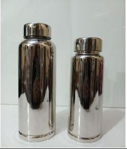 Steel Plain Water Bottle