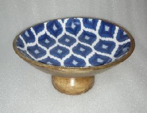 Wooden Printed Bowl