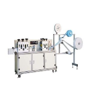 Semi Autometic 3ply Mask Blank Making Machine