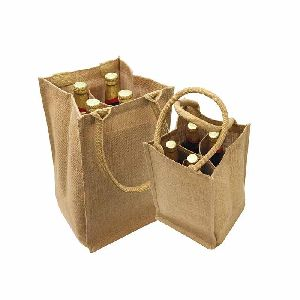 Jute Wine Bags