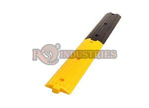 1 Yellow & 1 Black Rubber Rumble Strips