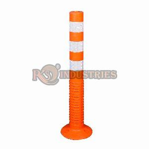 Pack of 1 Road Safety Spring Post