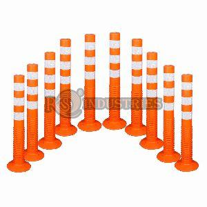 Pack of 10 Road Safety Spring Post