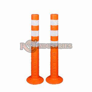 Pack of 2 Road Safety Spring Post