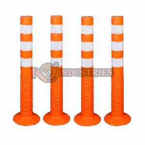 Pack of 4 Road Safety Spring Post