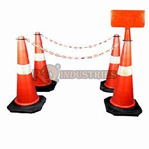Pack of 4 Traffic Cone Message Plates
