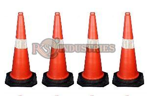 Pack of 4 Traffic Safety Cone
