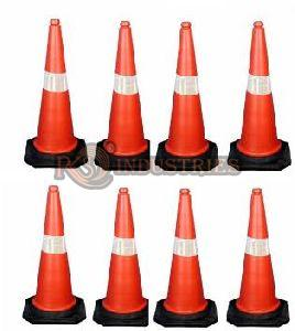 Pack of 8 Traffic Safety Cone
