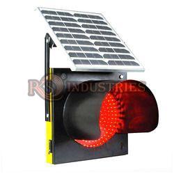 Solar Traffic Blinker Flasher