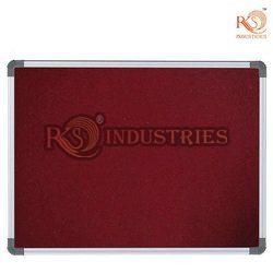 RKS Tenta Frame Maroon Pinup Board