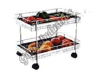 Double Deluxe Vegetable Stand
