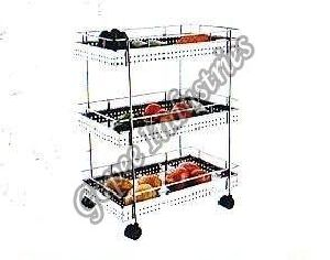 Triple Deluxe Vegetable Stand