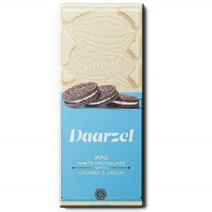 Daarzel 30% White Chocolate with Cookies & Cream