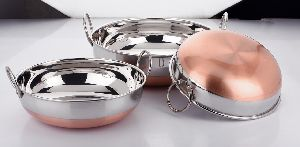 Stainless Steel Induction Bottom Kadai