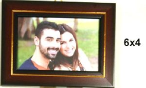 Fiber Photo Frame (6x4 Inch)
